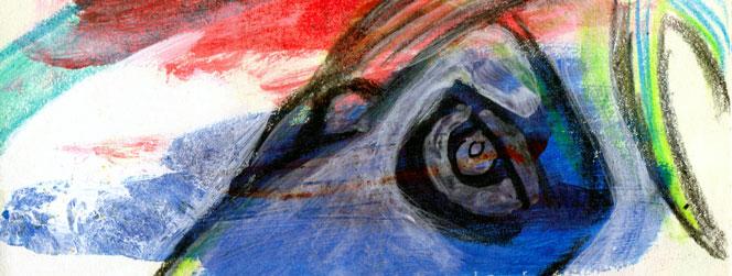 eye from 2010 Sketchbook by sandpaperdaisy