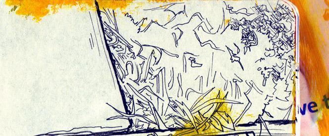 grass from 2010 sketchbook by sandpaperdaisy