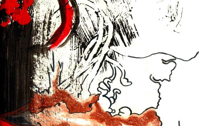 slashes from 2010 Sketchbook by sandpaperdaisy