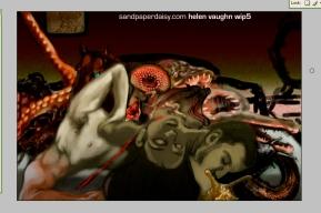 work in progress 5 for Helen Vaughan by sandpaperdaisy