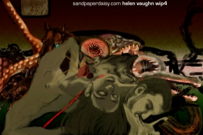 work in progress 4 for Helen Vaughan by sandpaperdaisy