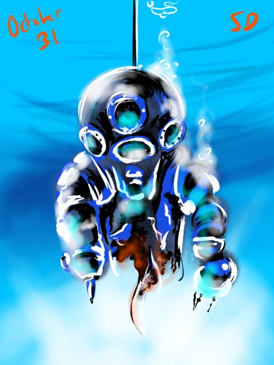 the diver from deep star six, and awesome movie