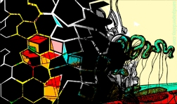 polygons and viscera, goya reference