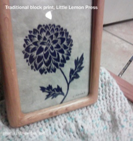 block print little lemon press