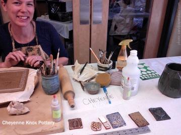 cheyenne knox pottery