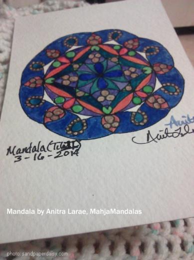 mandala by anitra larae