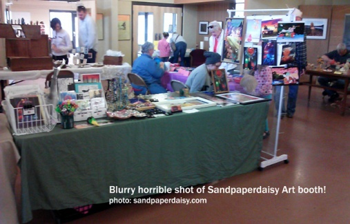 sandpaperdaisy booth wide shot