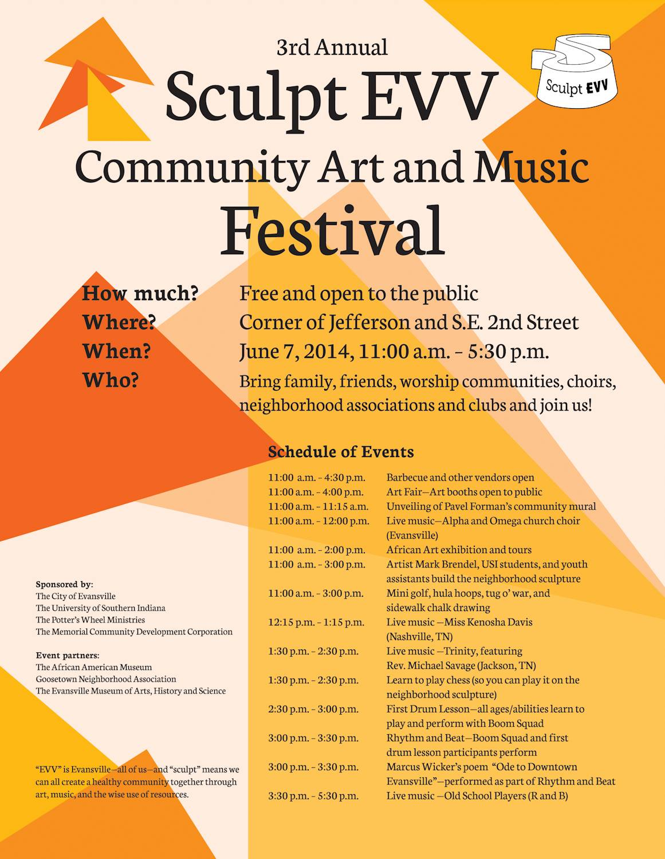 art music free community event