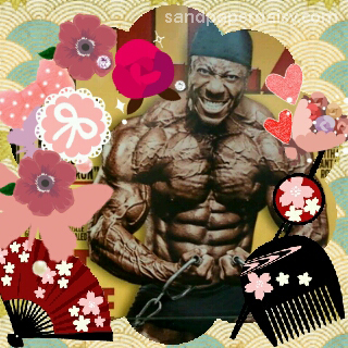 strongman purikura by sandpaperdaisy