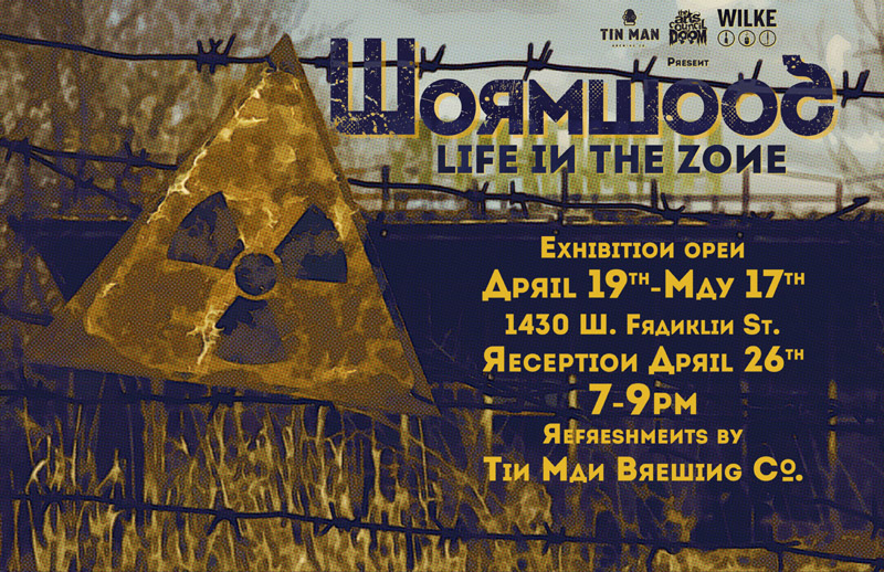 hazmat sign radiation zone by wilke