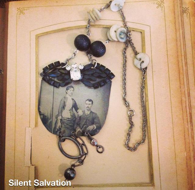 Gorgeous morbic handmade jewelry by Silent Salvation Jewelry