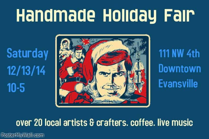 December 13 2014 handmade fair wired cafe evansville IN