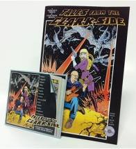 Comic book and jazz album in the special edition album of Tales from the Clarkside