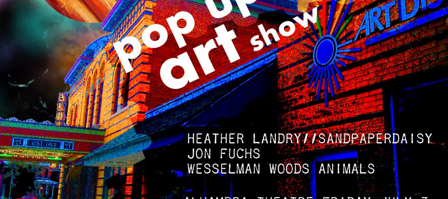 heather landry sandpaperdaisy art jon fuchs haynies corner alhambra friday july 3 2015 evansville indiana art music food