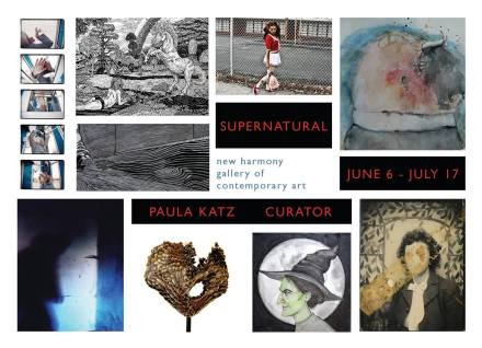 Supernatural show at New Harmony Gallery including 2 pieces by sandpaperdaisy