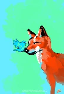 BluebirdFox_sandpaperdaisy