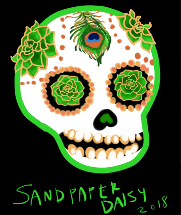 Sugarskull-green_sandpaperdaisy