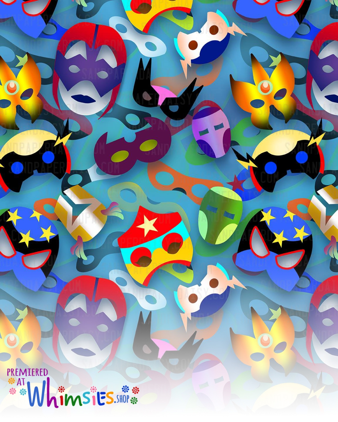 hero-masks_pattern_sandpaperdaisy