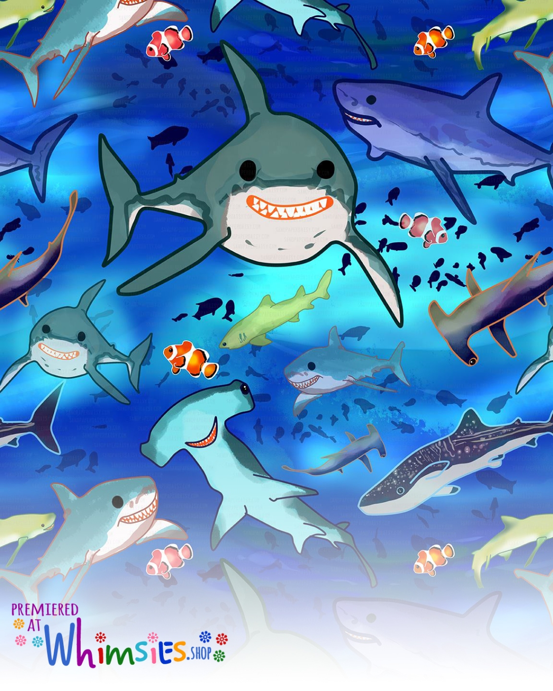 shark_pattern_sandpaperdaisy