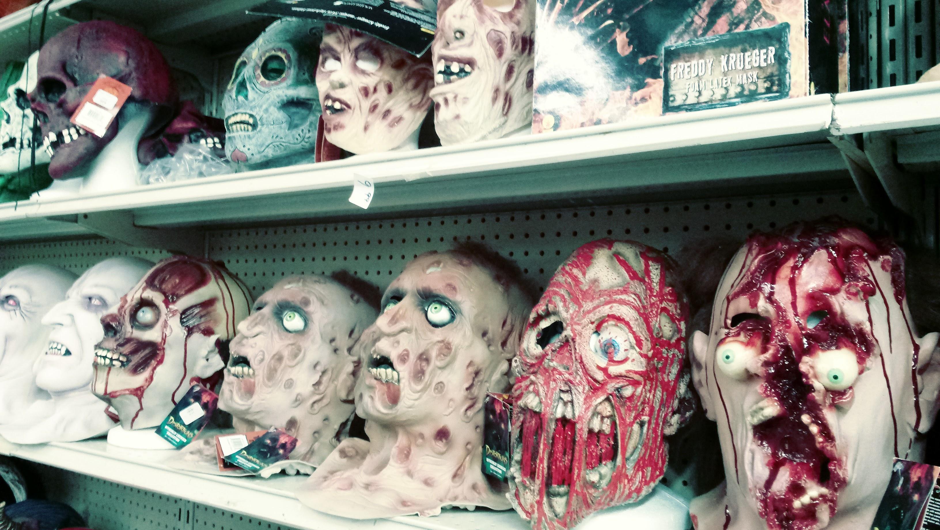 nick nackery freddy slasher bleeding bloody screaming scarred masks