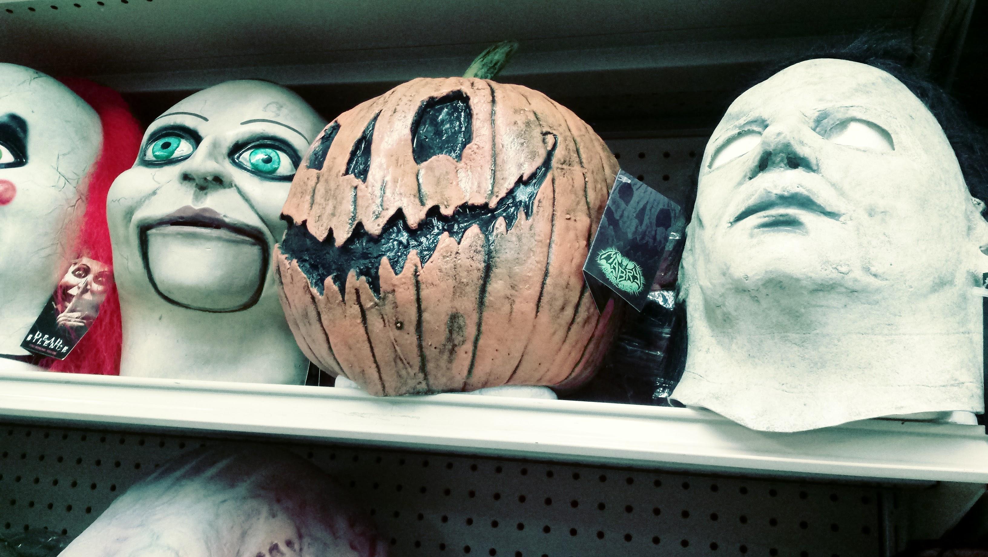 nick nackery micheal meyers halloween pumpkinhead clown masks