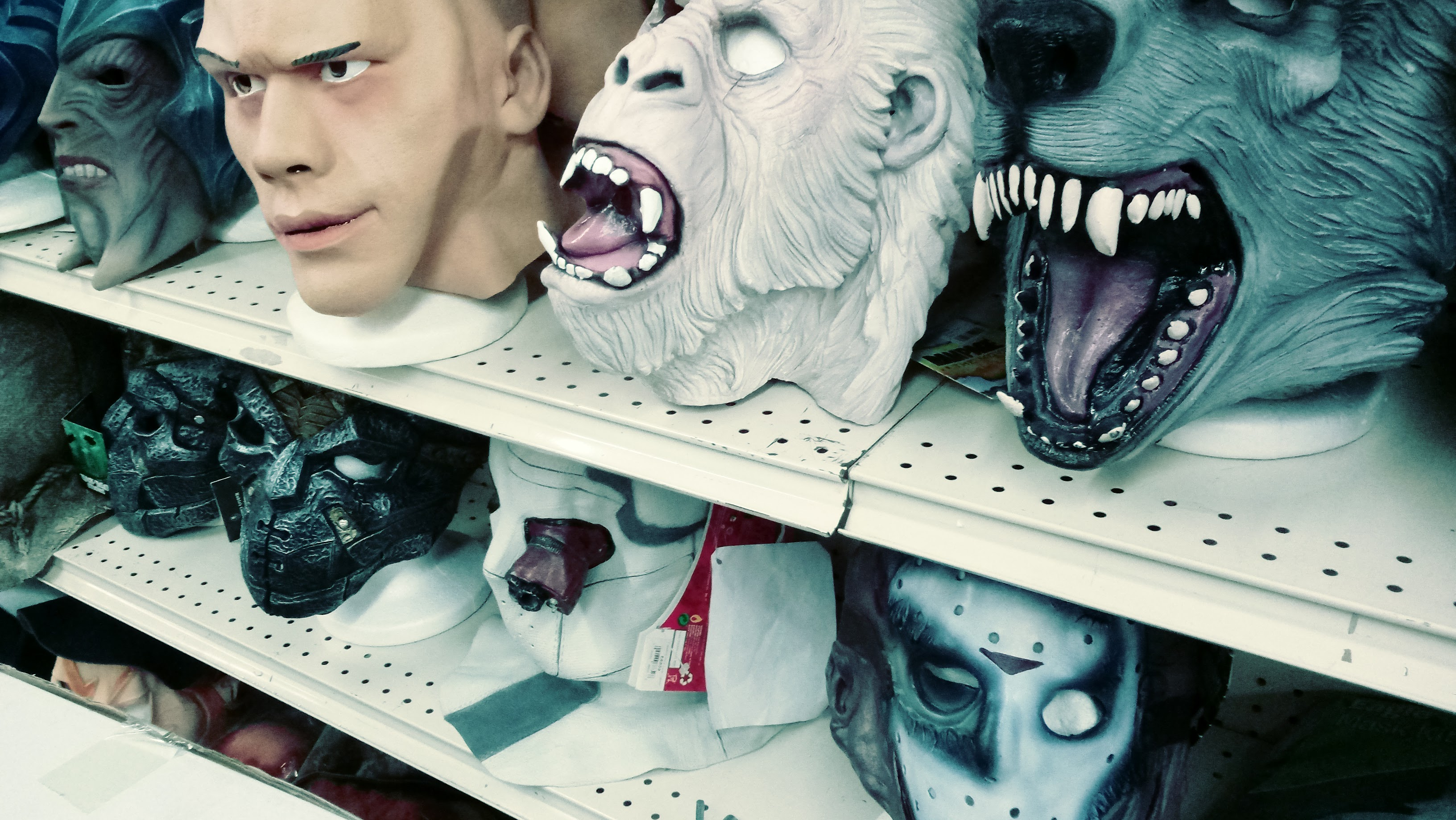 nick nackery werewolf yeti jason vorhees and john cena masks