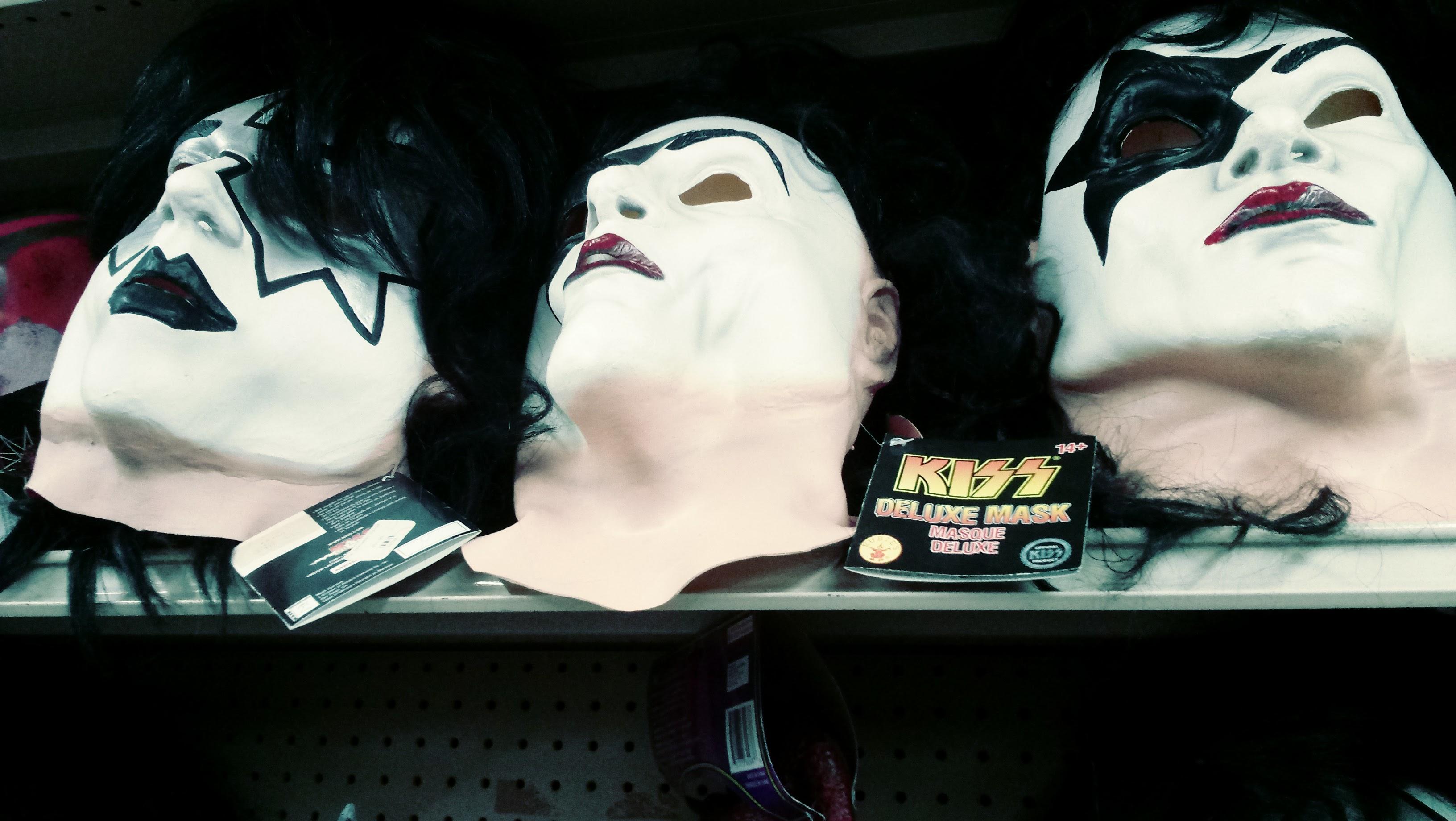 nick nackery kiss band masks