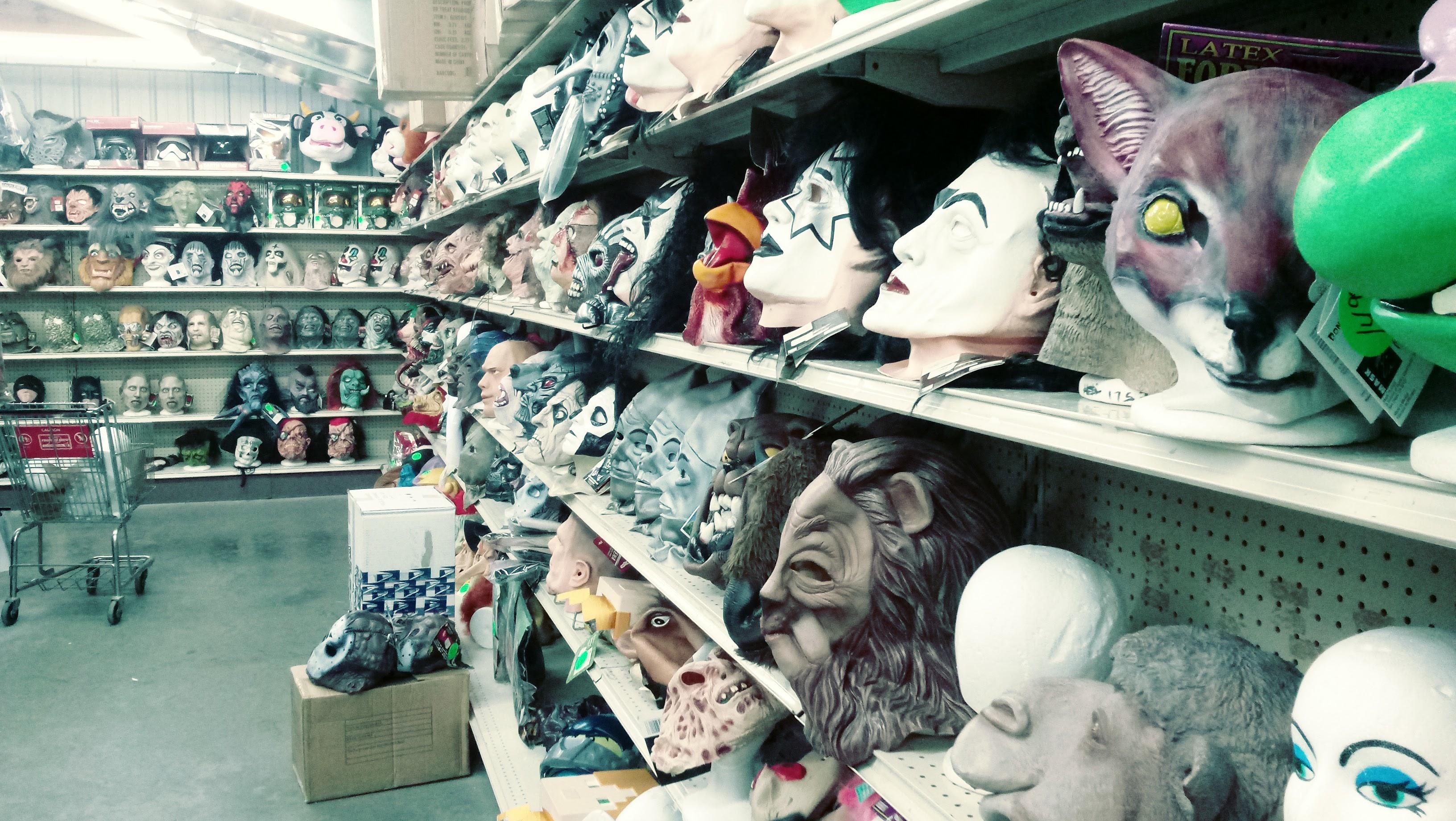 nick nackery mask room