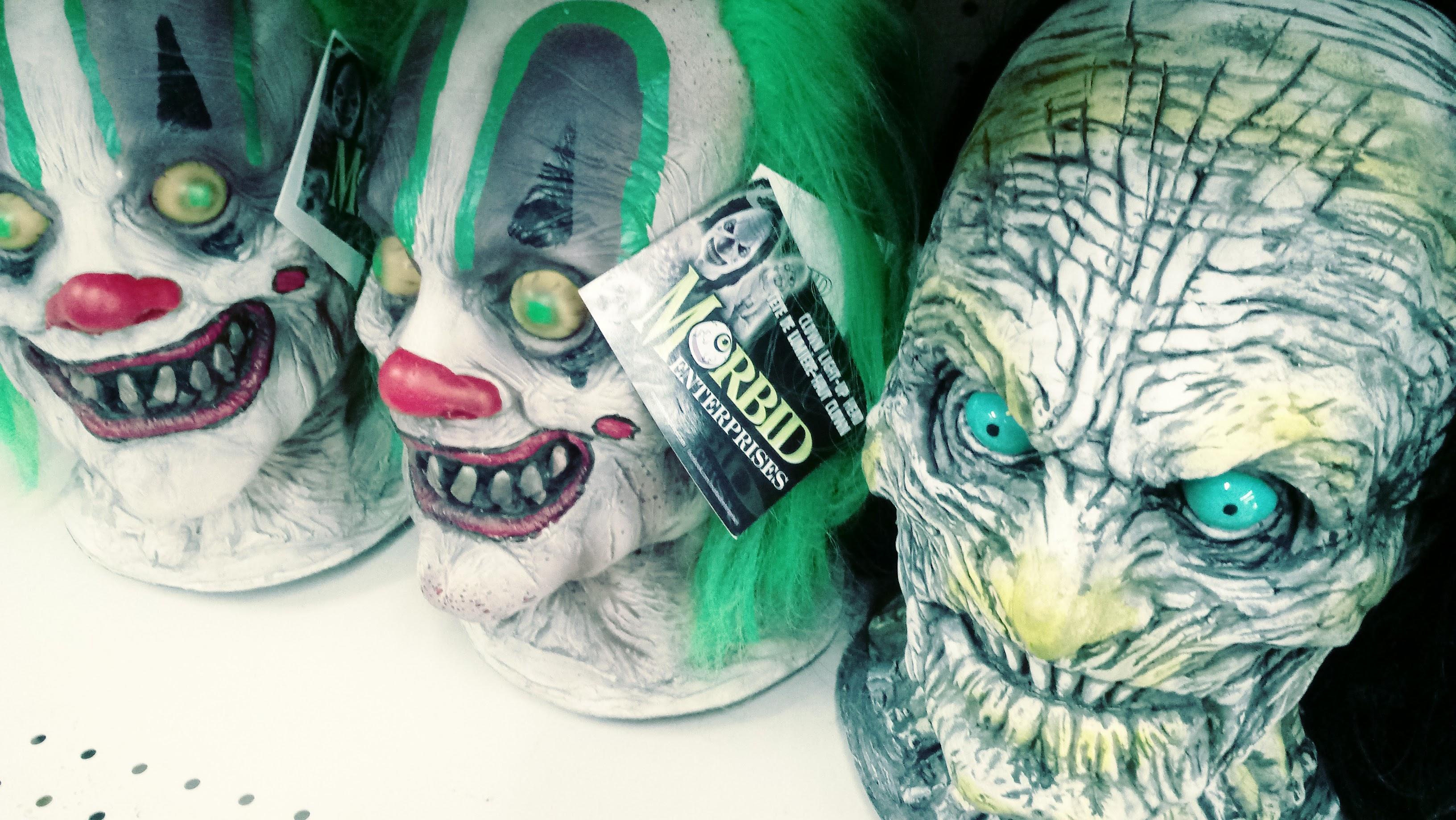 nick nackery morbid enterprises clown masks