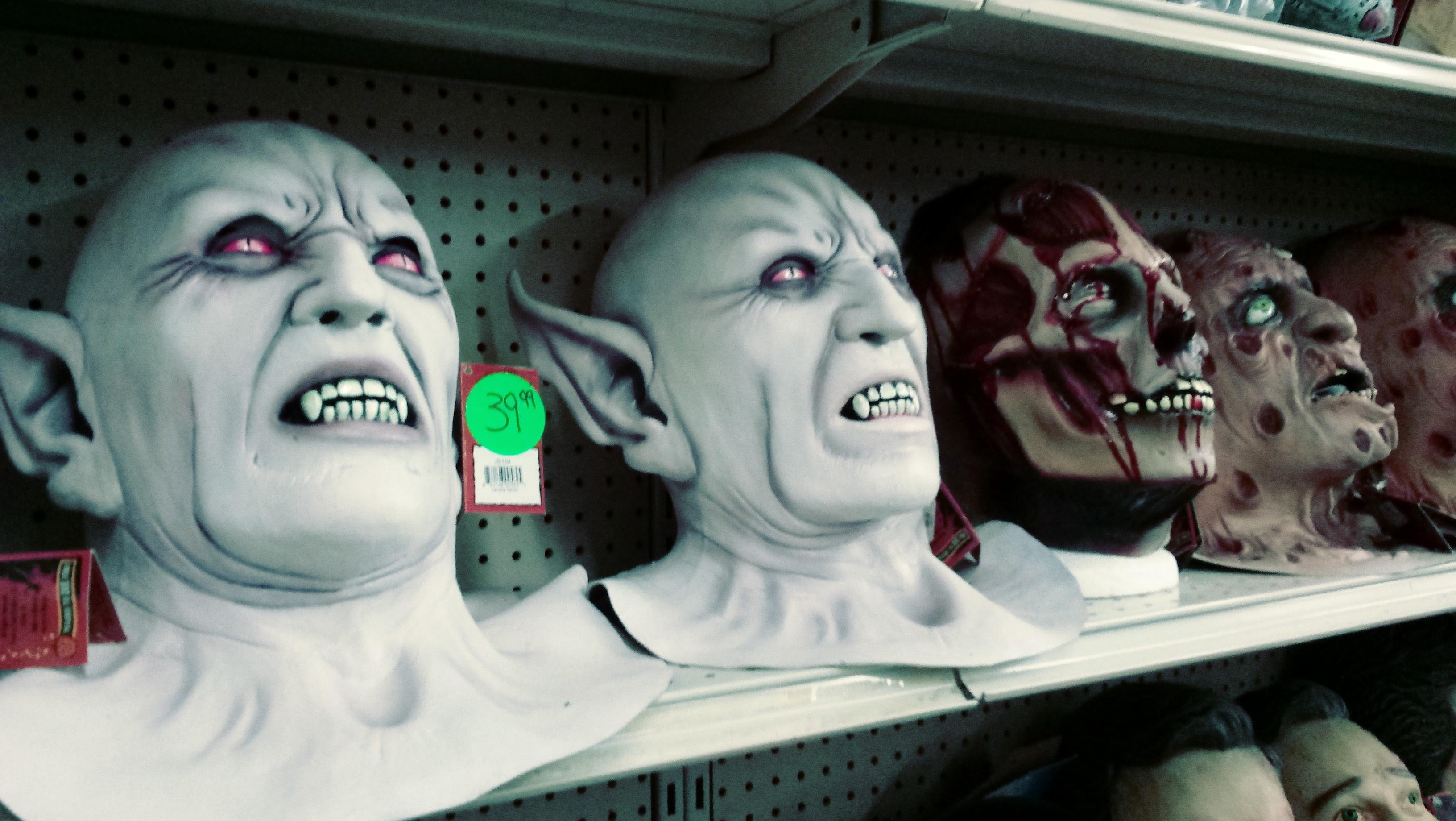 nick nackery nosferatu vampire bleeding skull masks