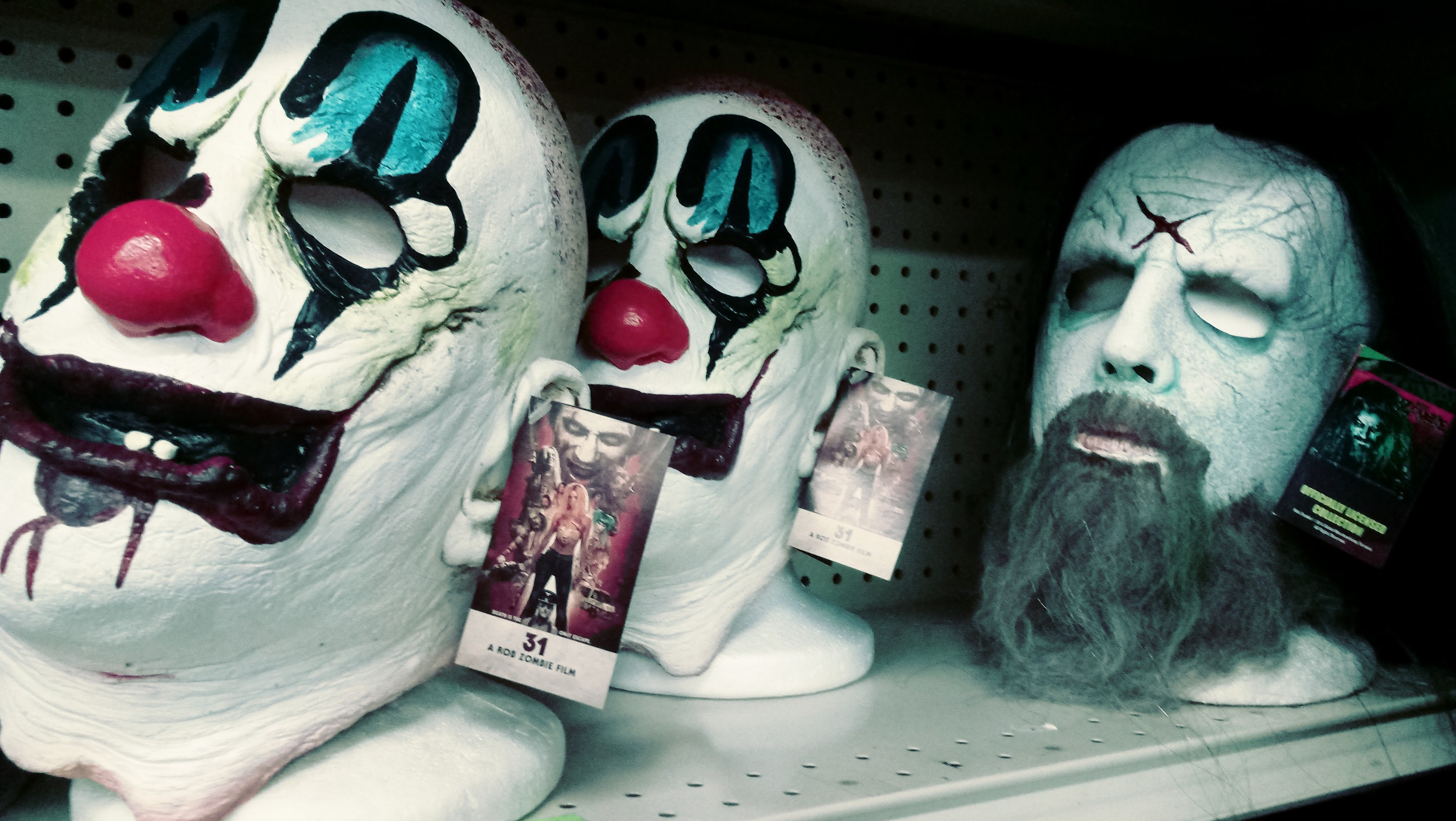 nick nackery rob zombie captain spaulding house of a thousand corpses dragula masks