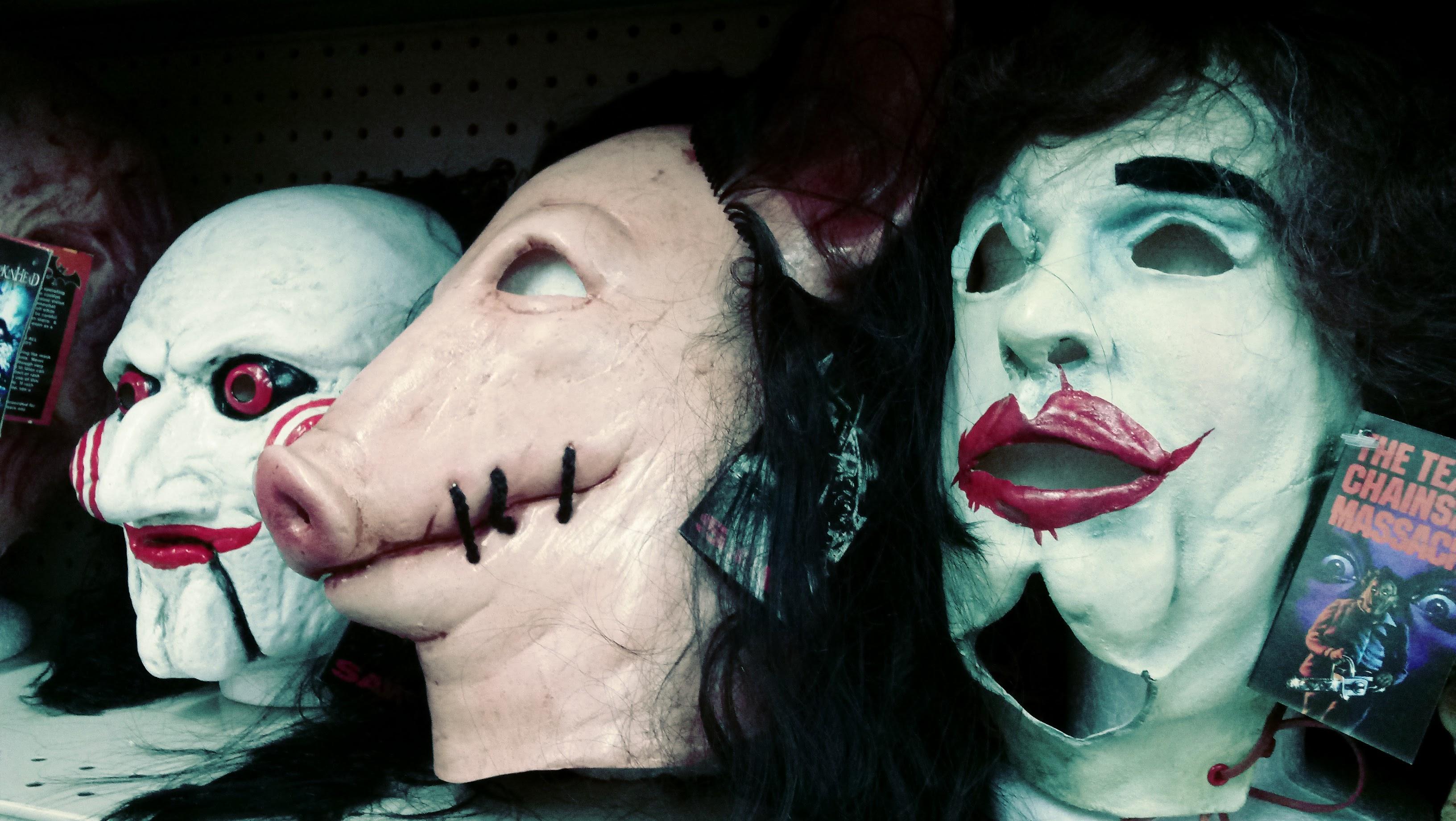 nick nackery saw jigsaw pig head masks