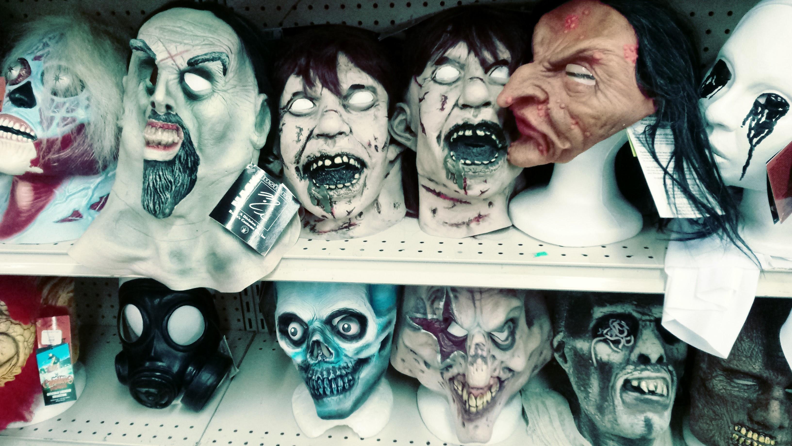 nick nackery scarecrow they live witch zombie gasmask horror masks