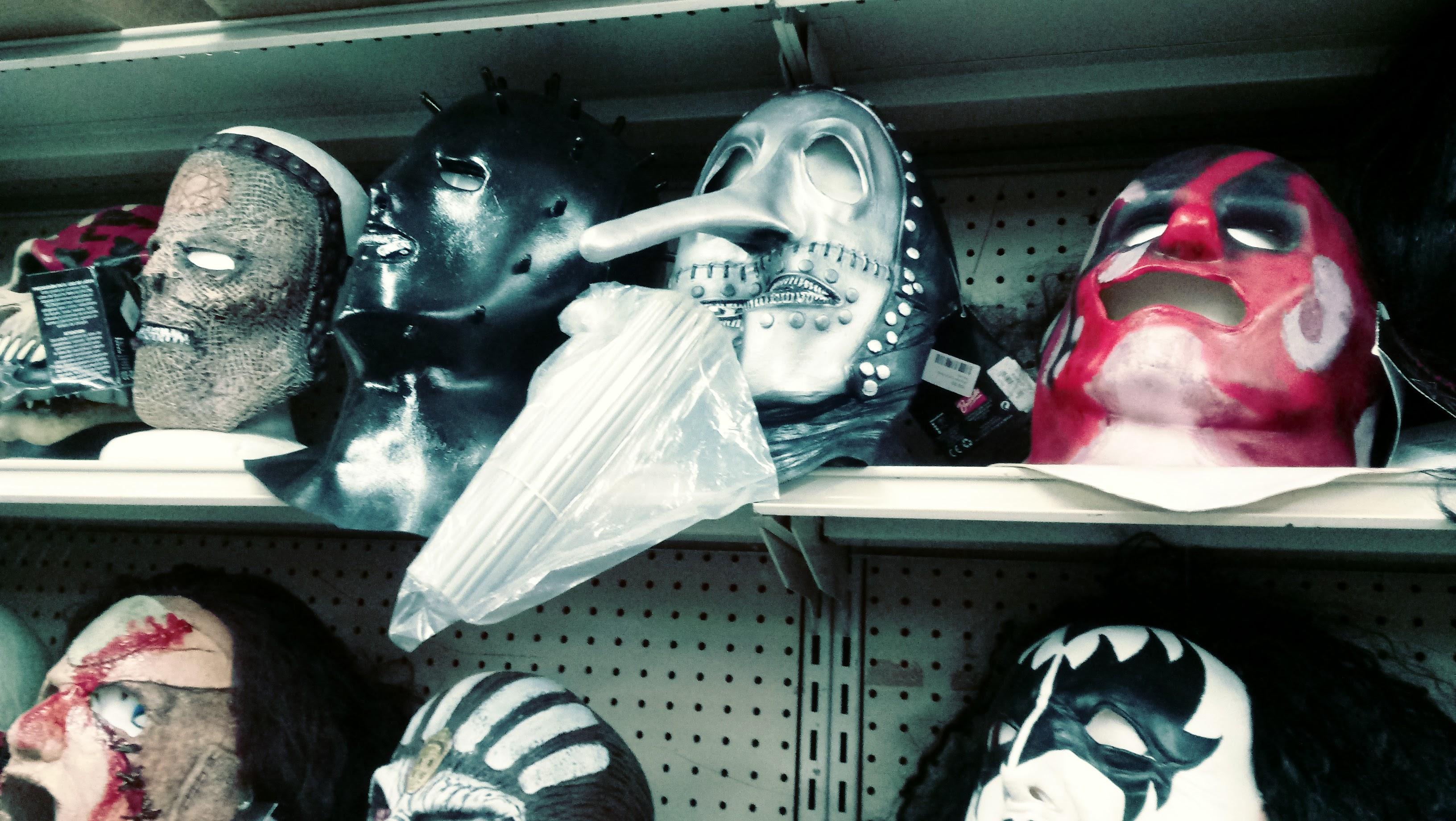 nick nackery slipknot and leatherface masks
