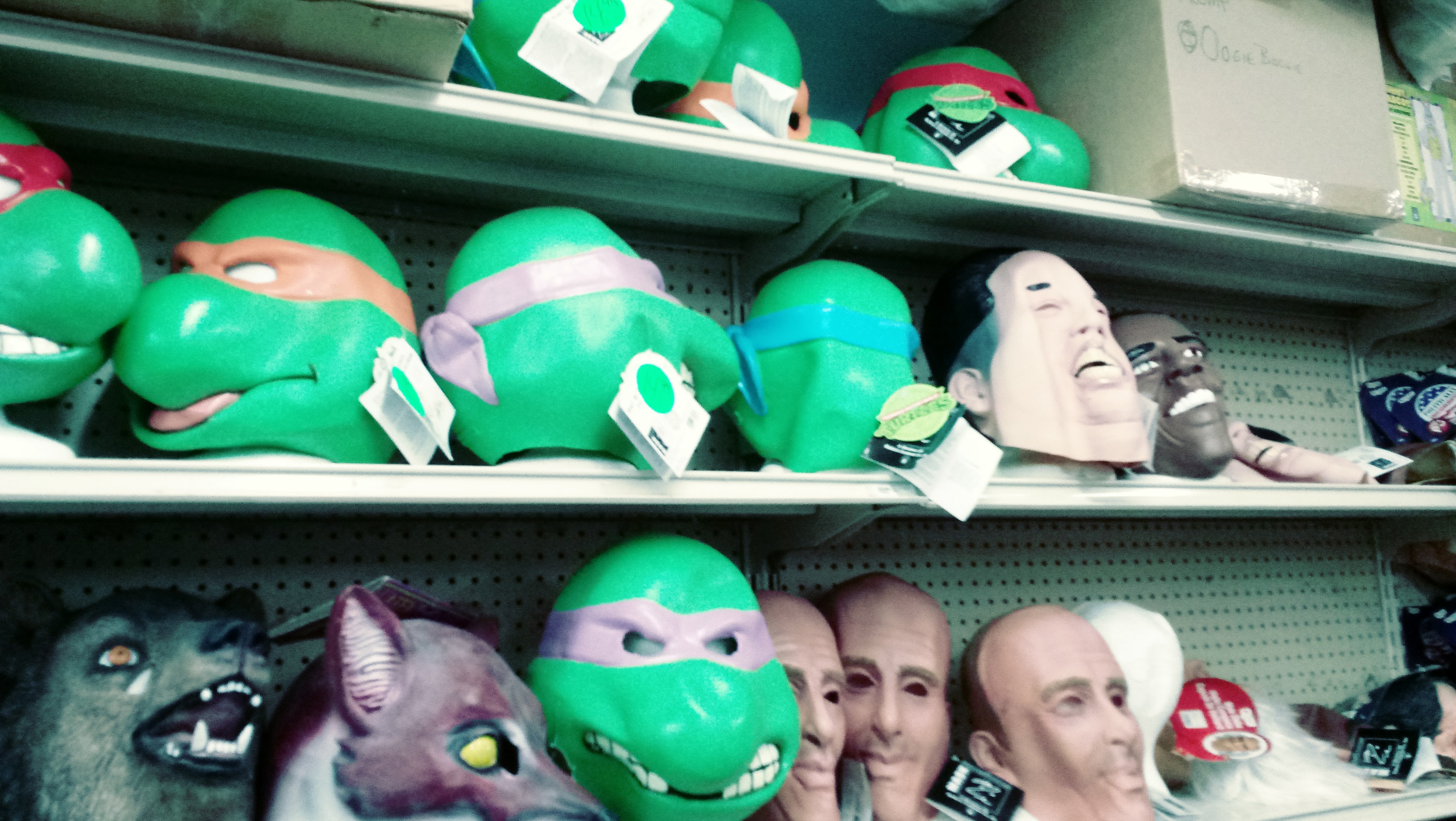 nick nackery tmnt and political masks