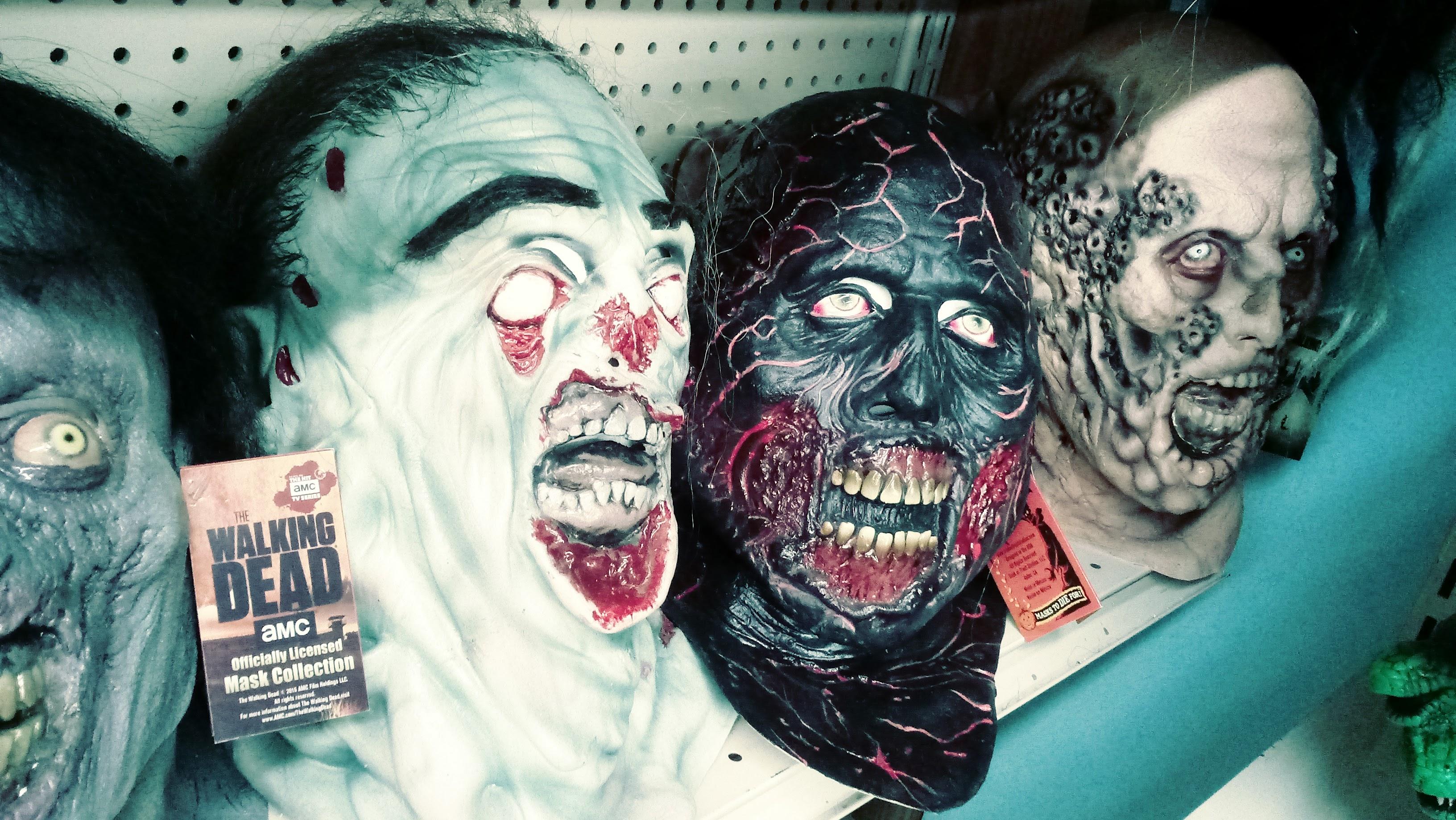 nick nackery walking dead charred flesh zombie masks